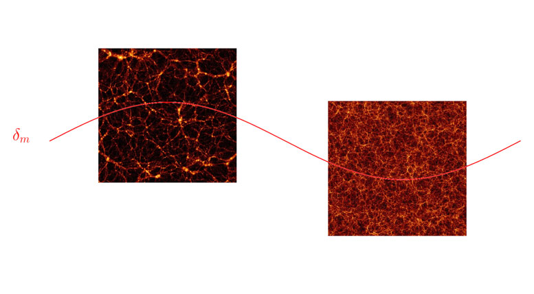 Simulating Separate Universes to Study the Clustering of Dark Matter