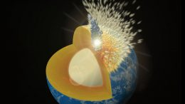 Simulations Show How Massive Collisions Delivered Metal to Early Earth