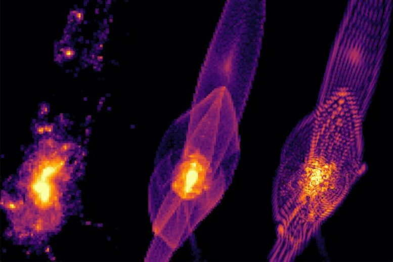 Simulations of How Galaxies Form in Cold, Warm and Fuzzy Dark Matter Scenarios