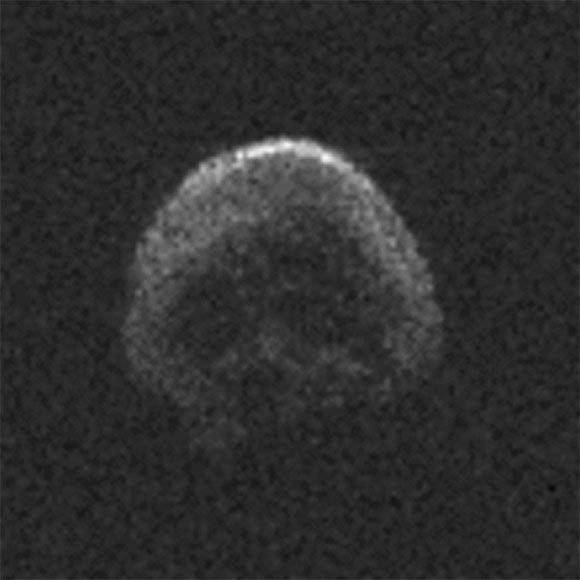 Skull Shaped Asteroid 2015 TB145