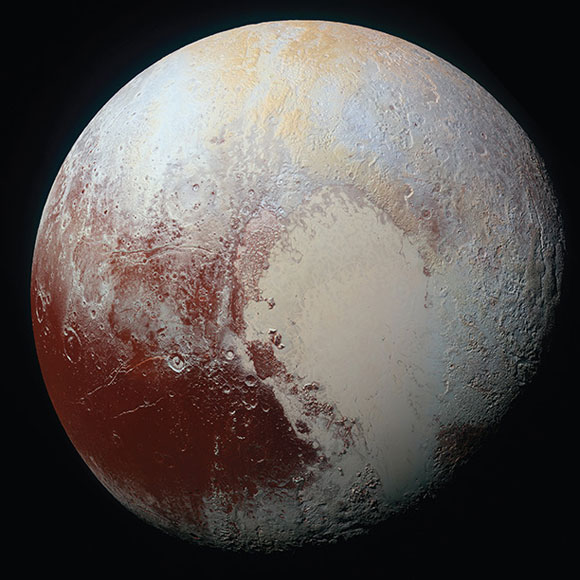Slushy Ocean Beneath Pluto's Surface