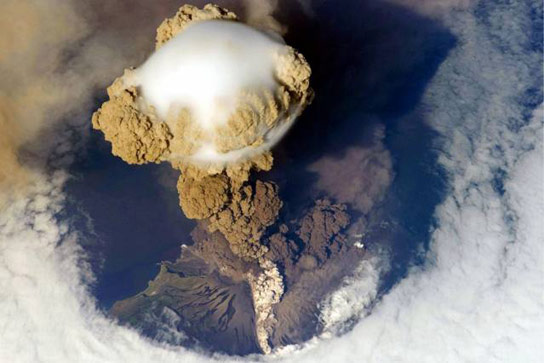 Small Volcanoes Make a Difference in Global Warming
