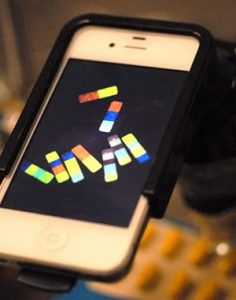Smartphone Analysis Microparticles