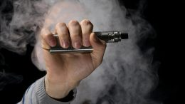 Smoke Vaping E-Cigarette