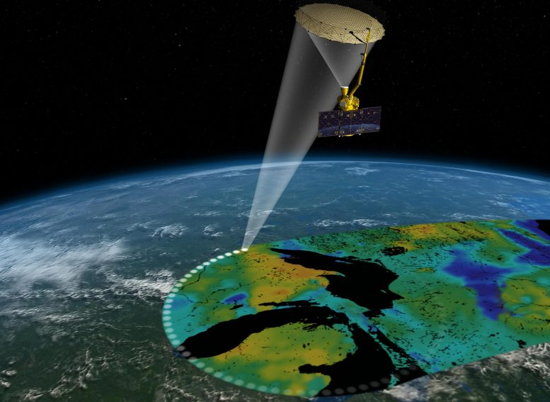 Soil Moisture Active Passive Satellite