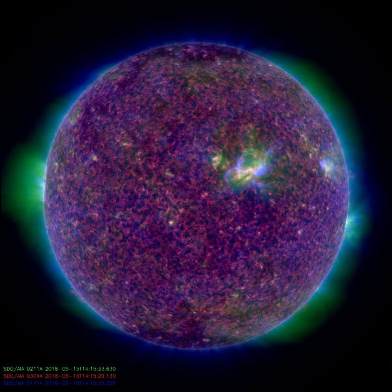 Solar Dynamics Observatory Observes Our Sun