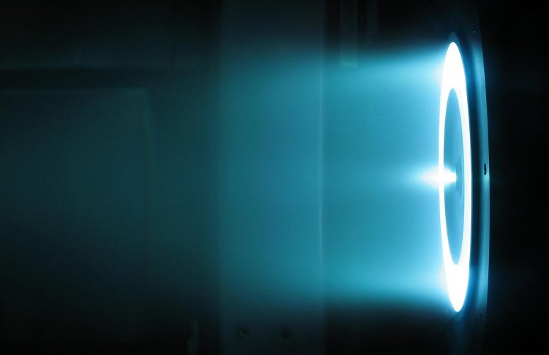 Solar Electric Propulsion Hall Effect Thruster