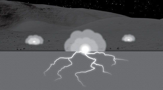 Solar Energetic Particles May Have Altered the Properties of Lunar Soil