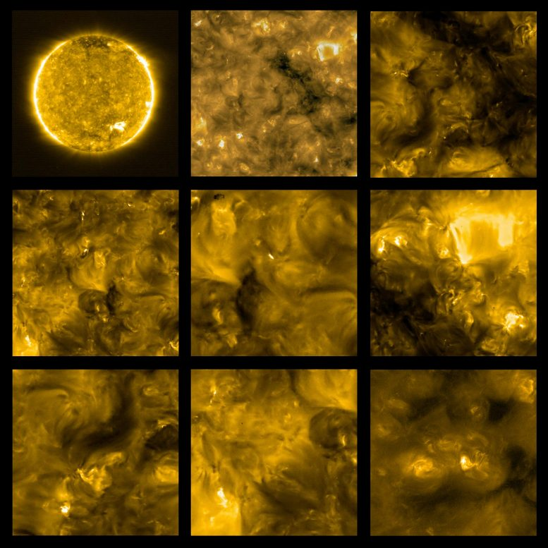 Solar Orbiter First View of the Sun