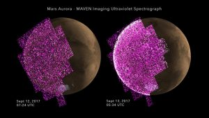 Solar Storm Triggers Whole-Planet Aurora at Mars