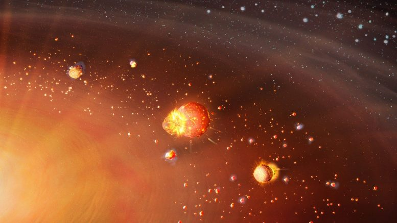 Solar System Formation in Two Distinct Planetary Populations