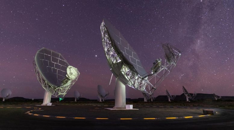 South African MeerKAT Radio Telescope