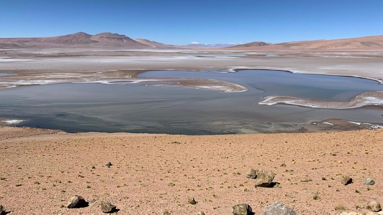 South America Altiplano Looks Like Mars