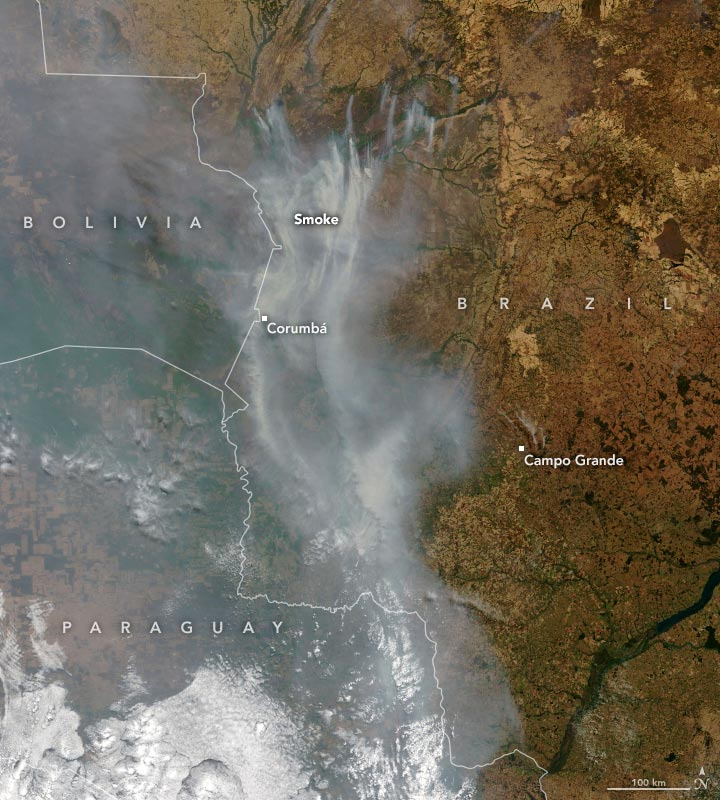 South America Wildfires 2020 Annotated