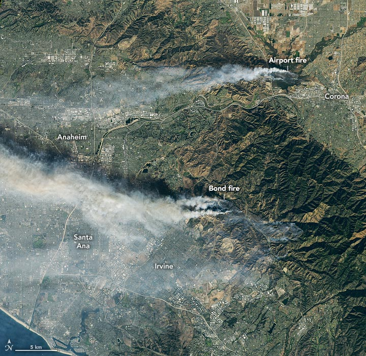 Southern California Fires December 2020 Annotated