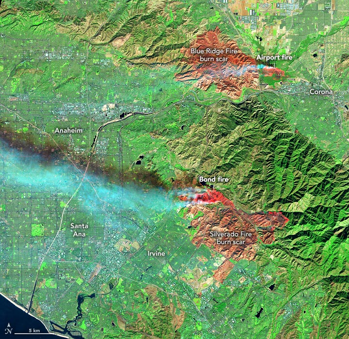 Southern California Fires OLI December 2020 Annotated