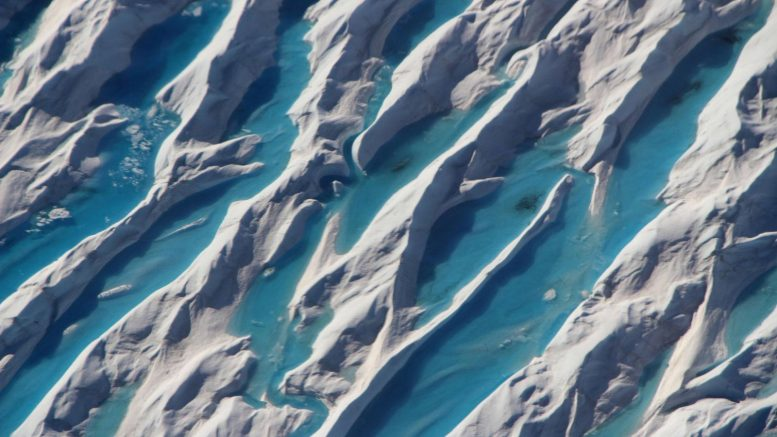 Southern Greenland Crevasses