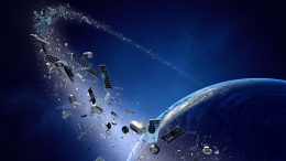 Space Junk Illustration
