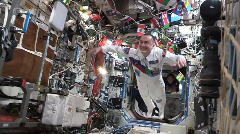 Space Olympics ISS