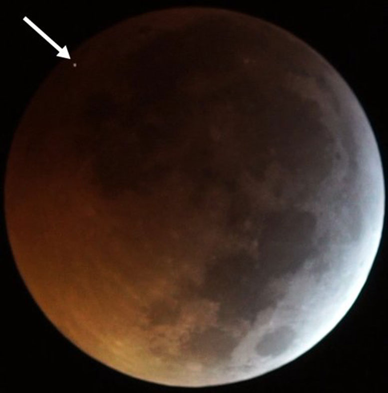 Meteorite Slammed Into Moon at 38000 MPH During January's Lunar Eclipse