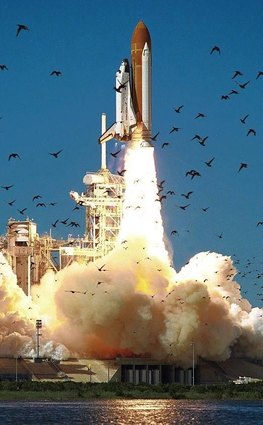 Space Shuttle Challenger STS-51L Launch