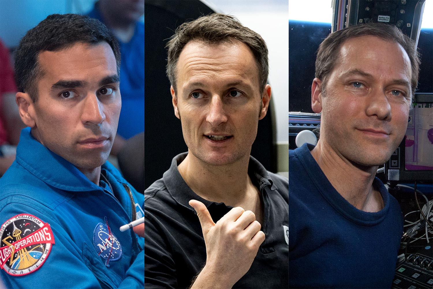 NASA and ESA name three Crew-3 astronauts