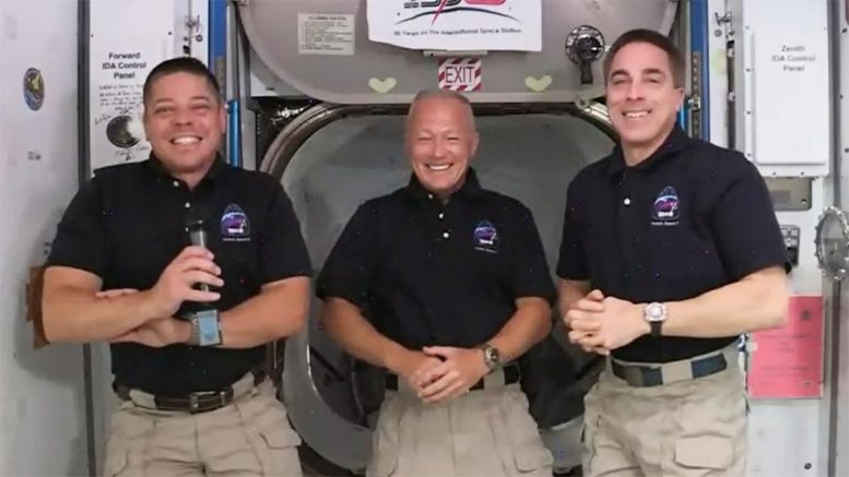 SpaceX Crew Astronauts ISS