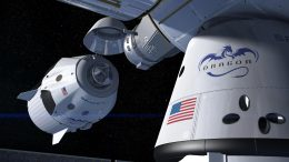 SpaceX Crew Dragon Docking With ISS