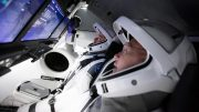 SpaceX Crew Dragon Spacecraft Flight Simulator
