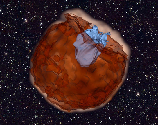 Spacecraft Capture Early Moments of Baby Supernovae