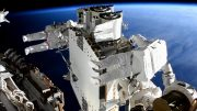 Spacewalkers Prepare Roll Out Solar Array