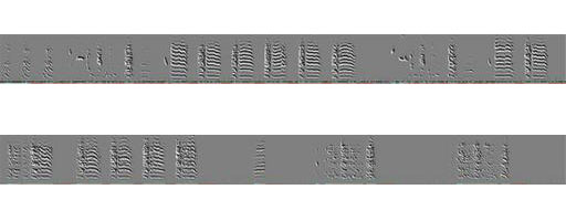 Spectrogram of a song, before songbird became deaf