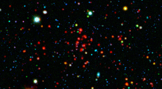 Spitzer Data Reveal the Rise and Fall of Galactic Cities