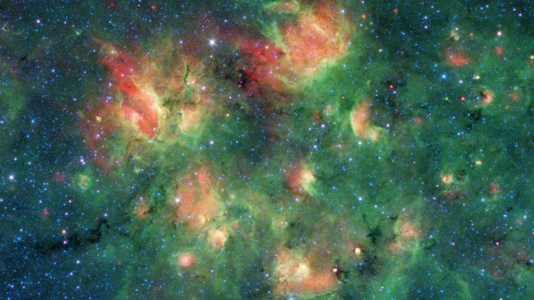 Spitzer Milky Way Bubbles