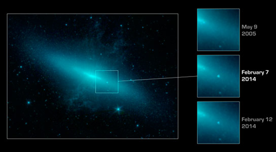 Spitzer Stares into the Heart of Supernova in M82