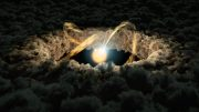 Spitzer Uses Light Echoes to Give Clues to Protoplanetary Disk