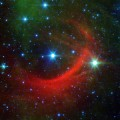 Spitzer Views a Runaway Star