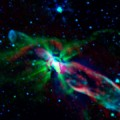 Spitzer and ALMA Reveal the Birth of a Star