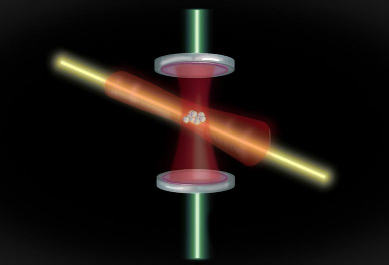 Squeezing Laser Atomic Clock
