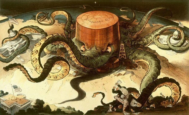 Standard Oil's Long Reach
