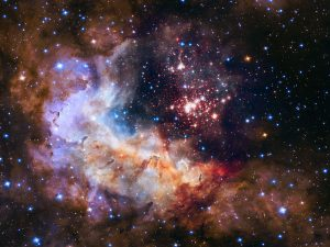 Hubble Space Telescope Image of Cluster Westerlund 2