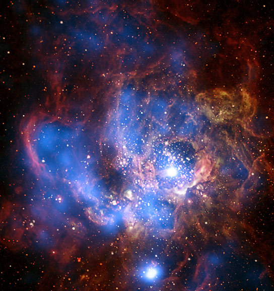 Researchers Calibrate the Strength of X-Ray Emission against Star Formation Rate