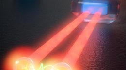 Stimulation Emission of Two Photons from a Quantum Dot