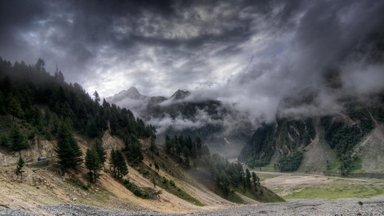Storm Clouds Mountains India