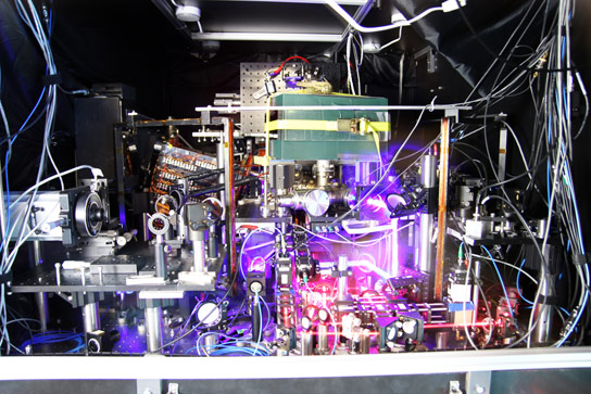 Strontium Atomic Clock Sets New Record