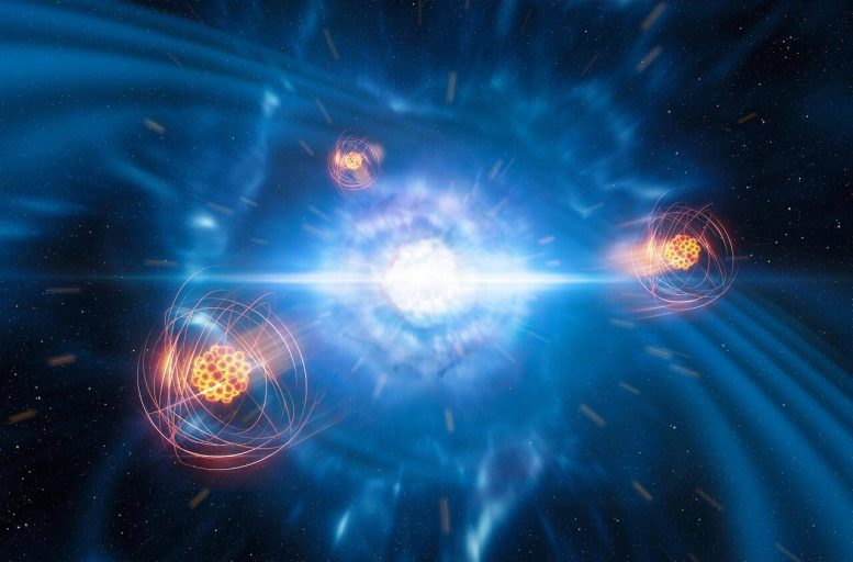 Strontium Emerging from a Neutron Star Merger