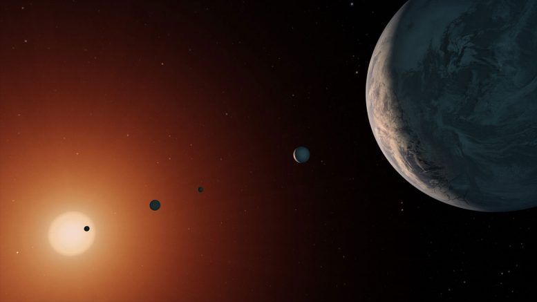 Study Reveals TRAPPIST-1 is Older Than Our Solar System
