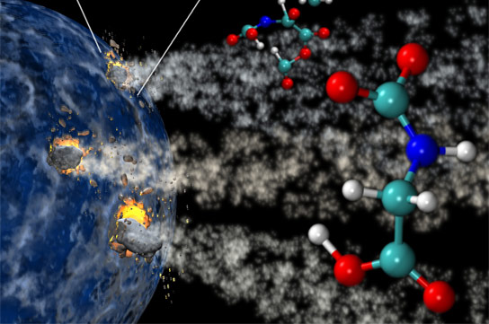 Study Shows Basic Building Blocks o fLife Can Be Assembled Anywhere in the Solar System