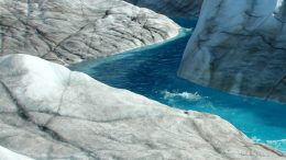 Study Shows Greenland Ice Sheet Movement Decreasing