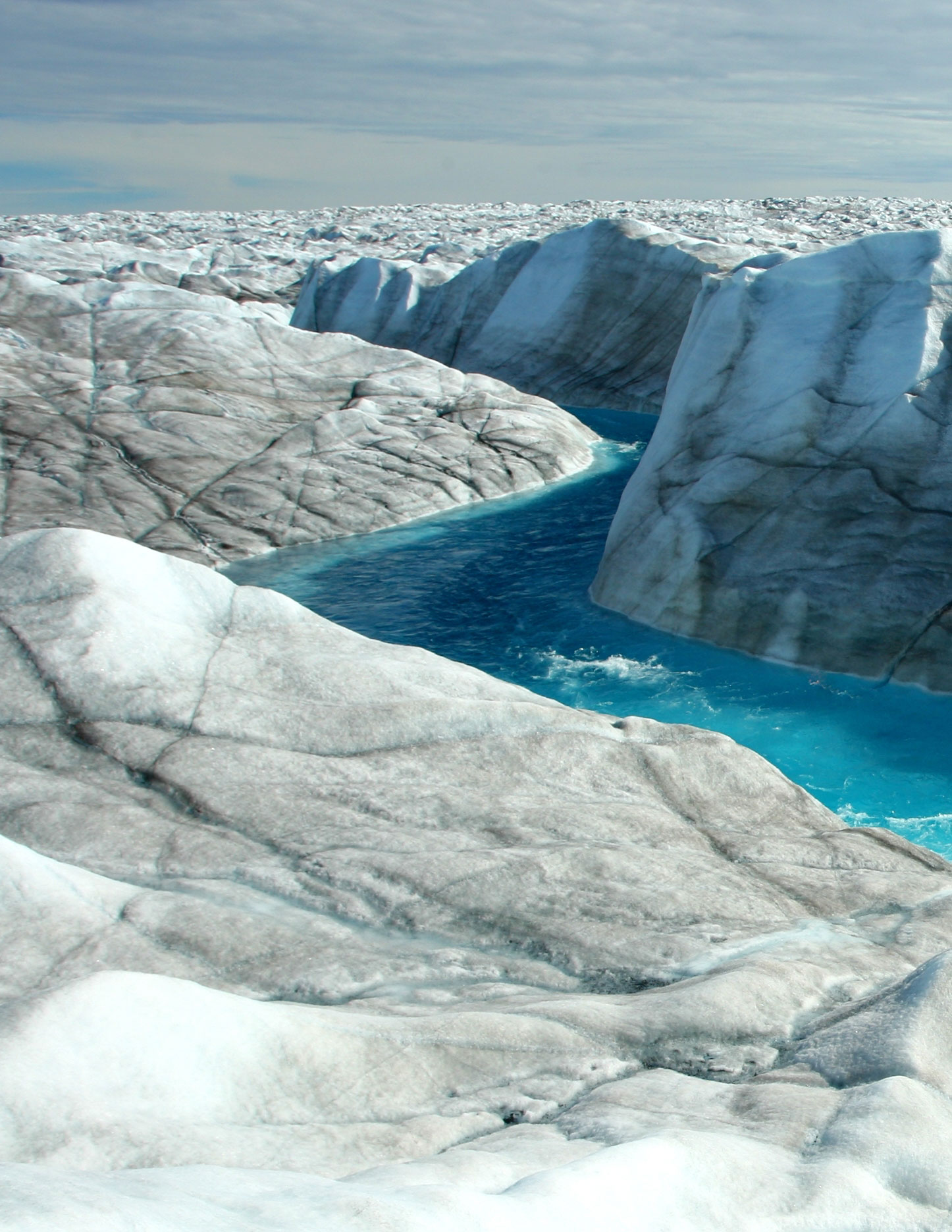 new research shows greenland ice sheet movement is decreasing